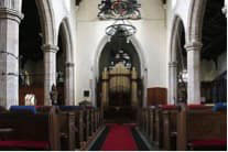 Inside St Mary's in Doddington